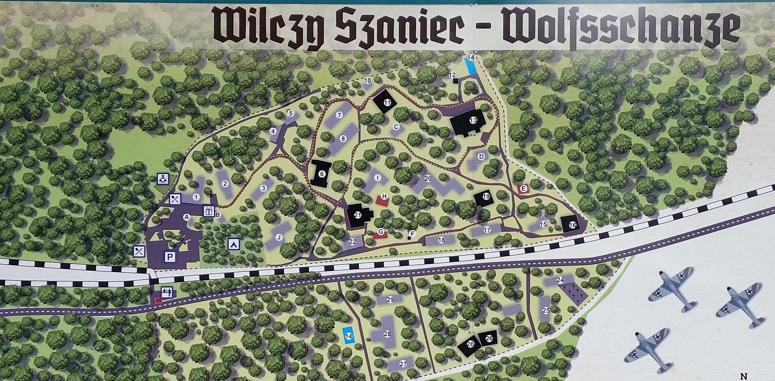 Wolfsschanze Karte.Wolfsschanze Und Masuren Meinetourindanzig Gdansk